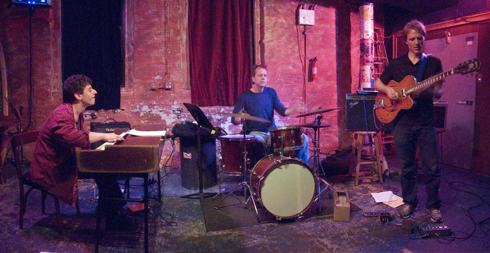 Brad Shepik Trio with Gary Versace and Tom Rainey - Tea Lounge 2007