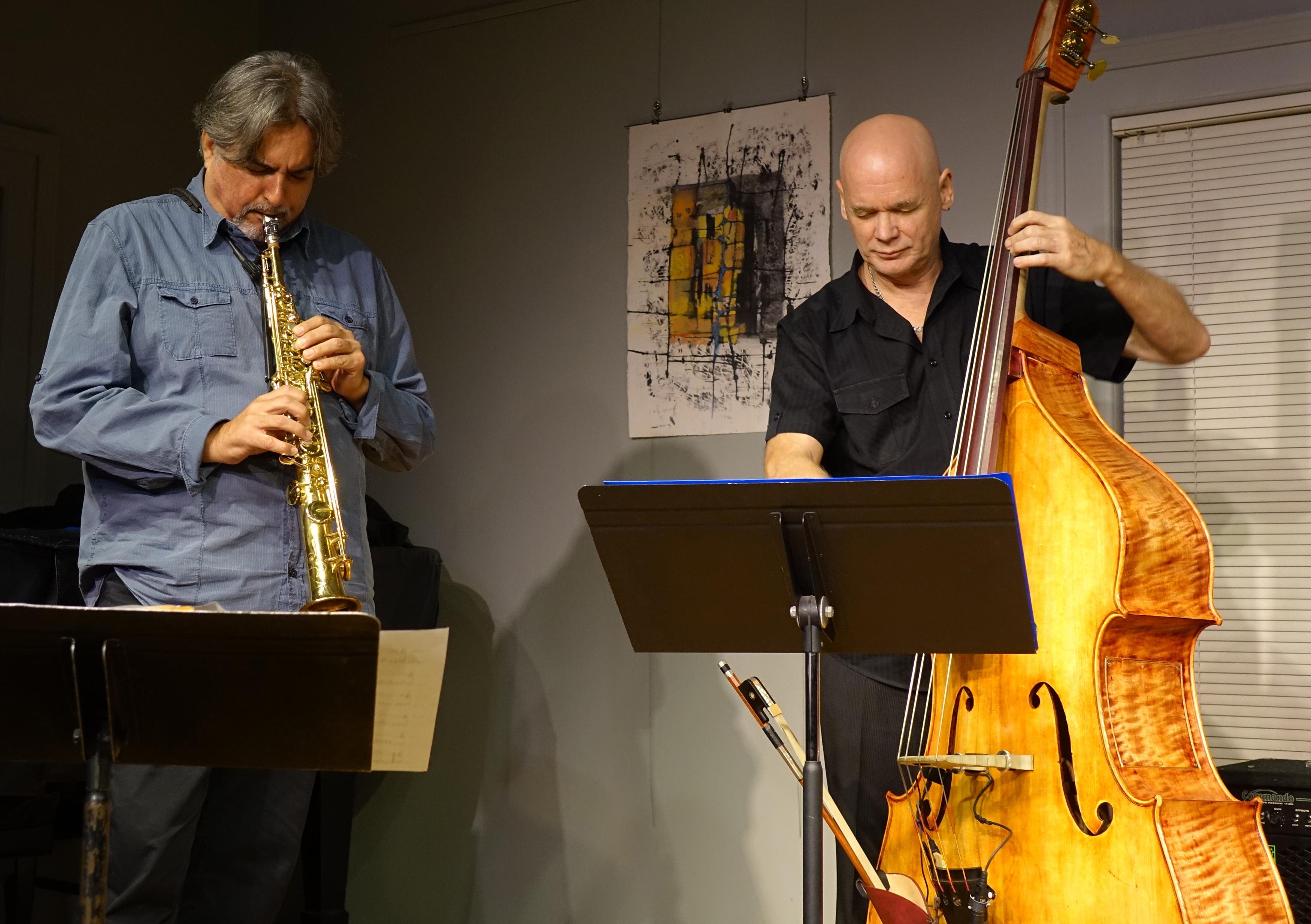 Tony Malaby and Mark Helias at Edgefest 2014