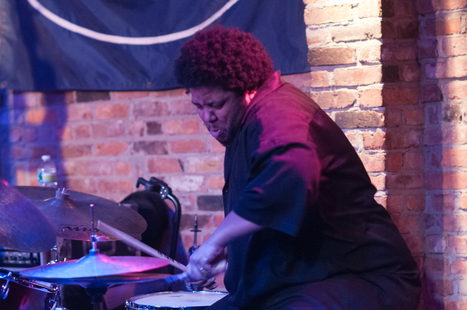 Tyshawn Sorey with Oblique at the Winter Jazzfest 2012