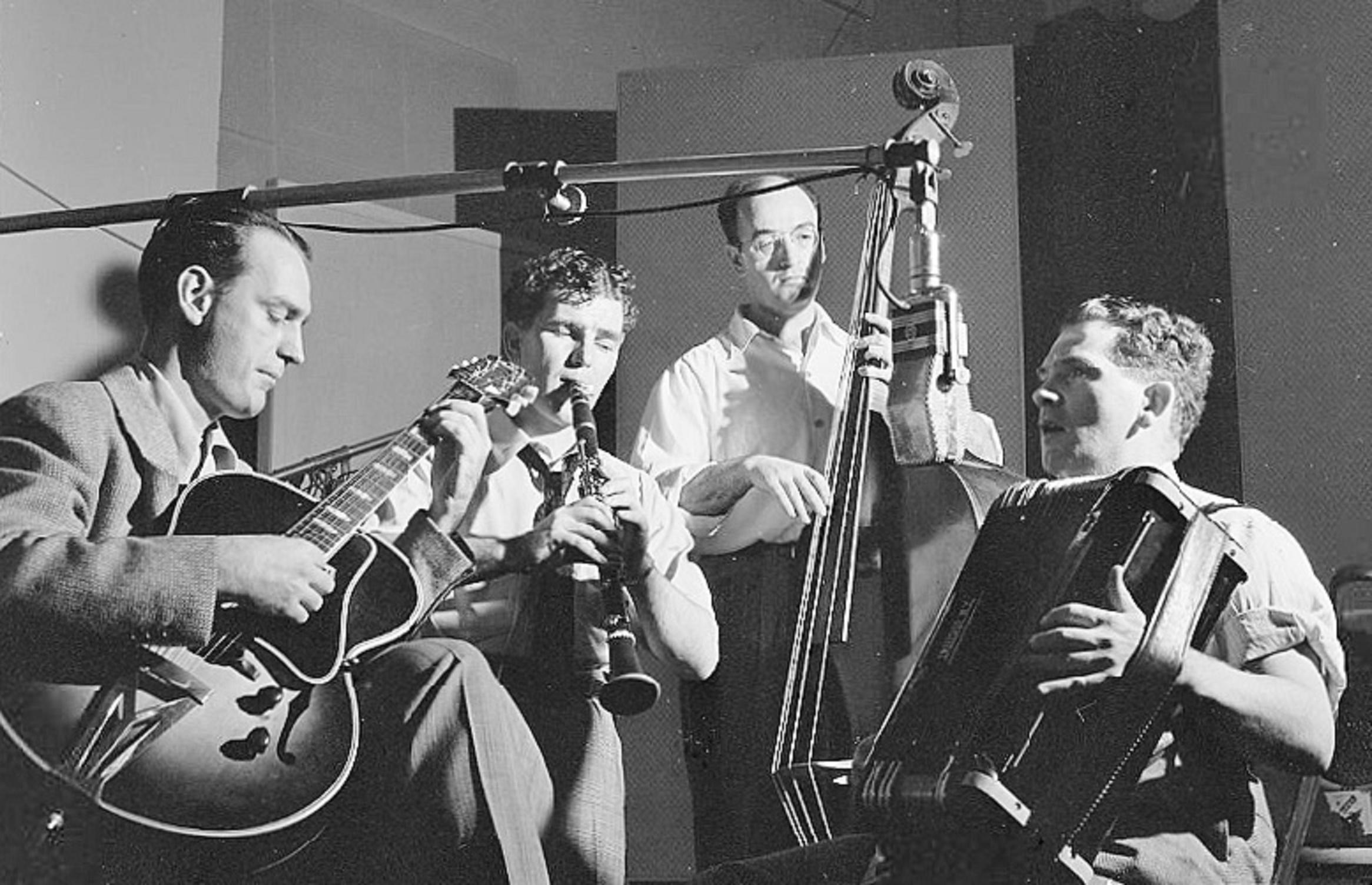 Joe Mooney Band at Decca Studios