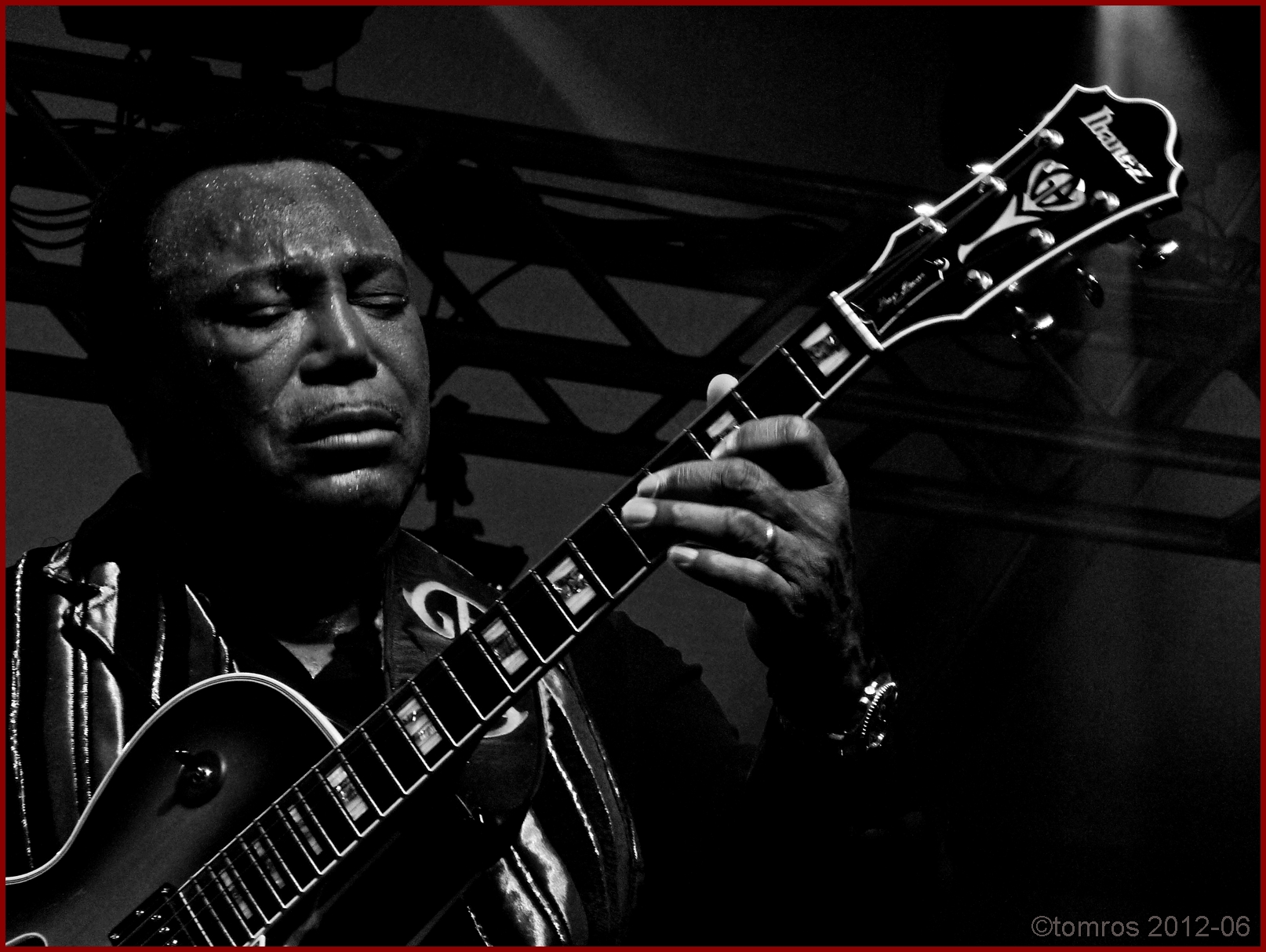 George Benson at Nathan Phillips Square in Toronto