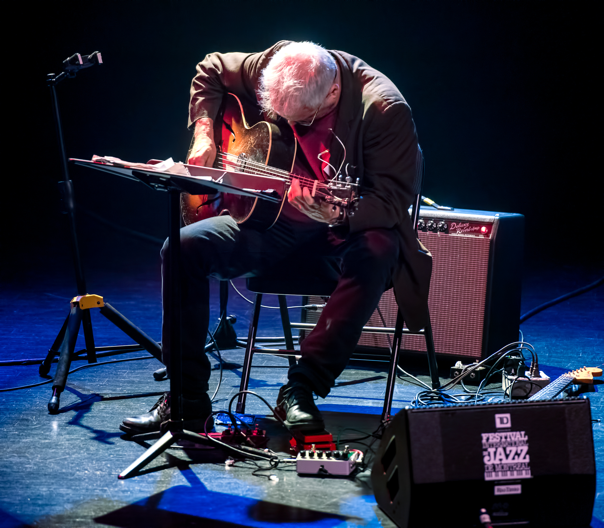 Marc Ribot With John Medeski And J.t. Lewis At The Montreal International Jazz Festival 2018