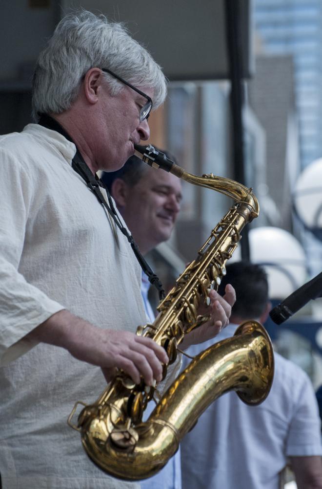 Mike Murley & Kevin Turcotte - Toronto Jazz Festival 2017 - Toronto