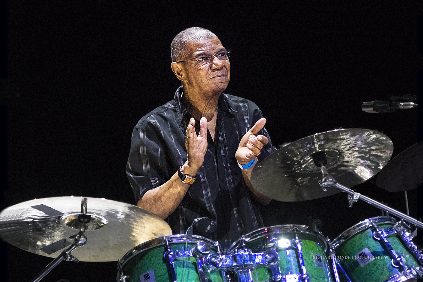 Jack DeJohnette at the Freihofer Saratoga Jazz Festival 2017