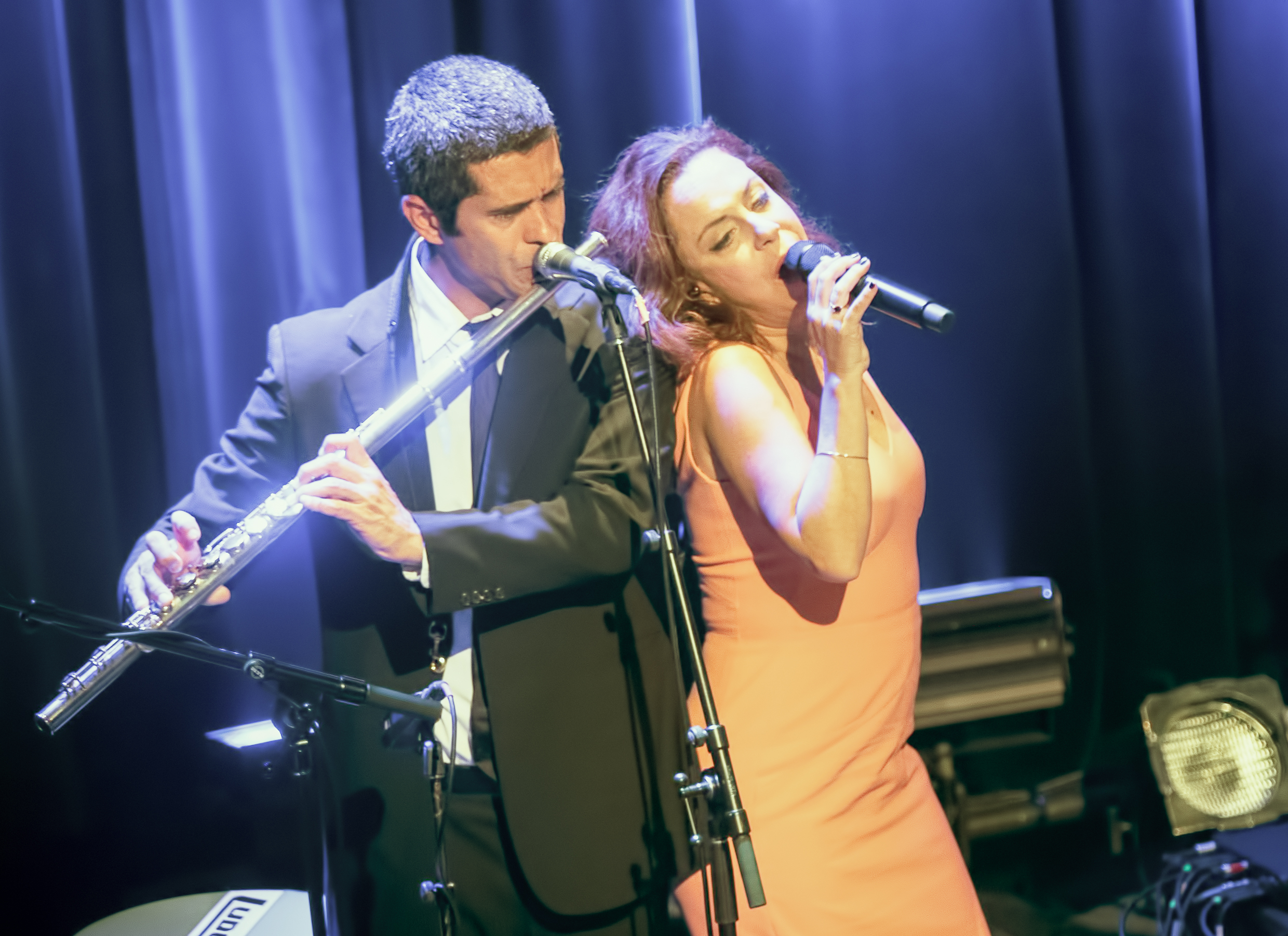 Jorge Vidal and Bebel Gilberto at the Montreal International Jazz Festival 2015