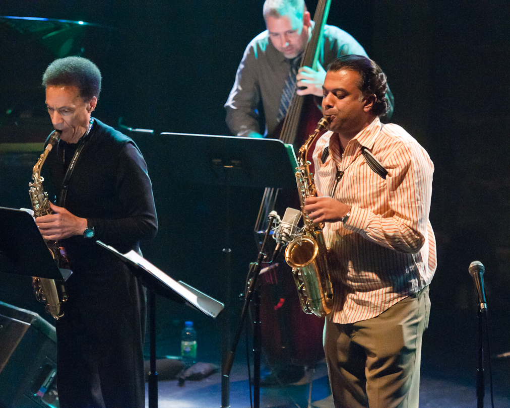 Bunky Green, Rudresh Mahanthappa and Carlos de Rosa with Apex at the Montreal International Jazz Festival