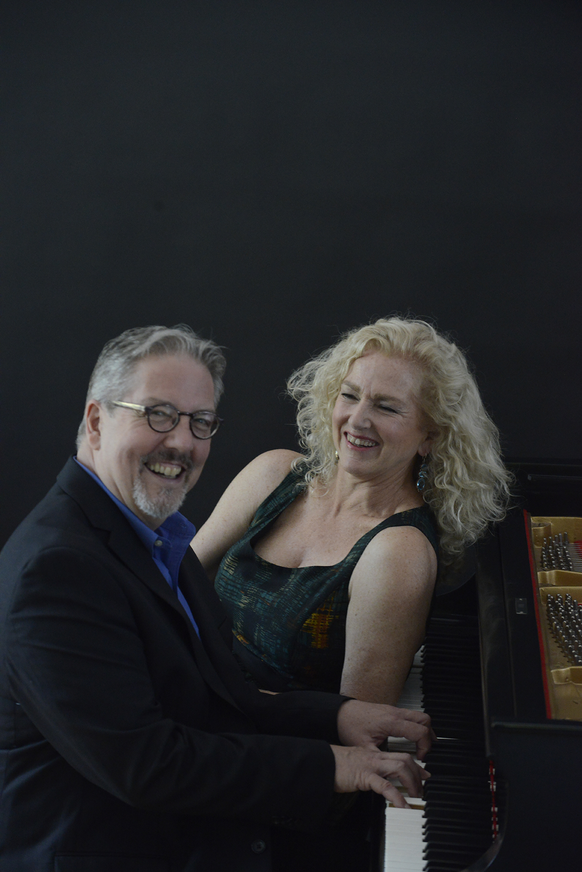 Pianist Ron Roy and Vocalist Shepley Metcalf