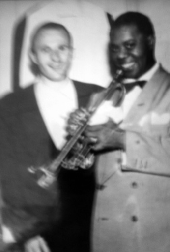 Sal Capozucca With Louis Armstong
