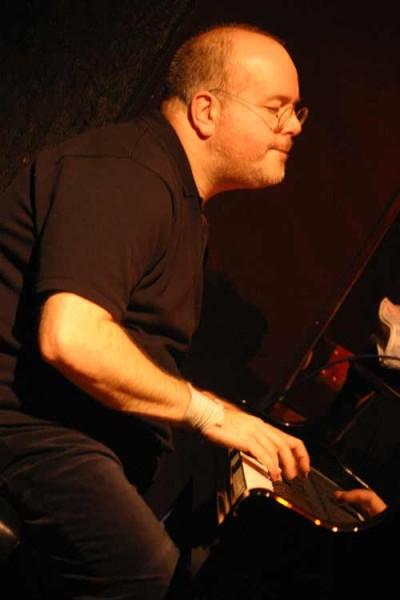 "David Berkman with ""David Berkman Quartet"" at Amr, Sud Des Alpes, Geneva, Switzerland,2004"