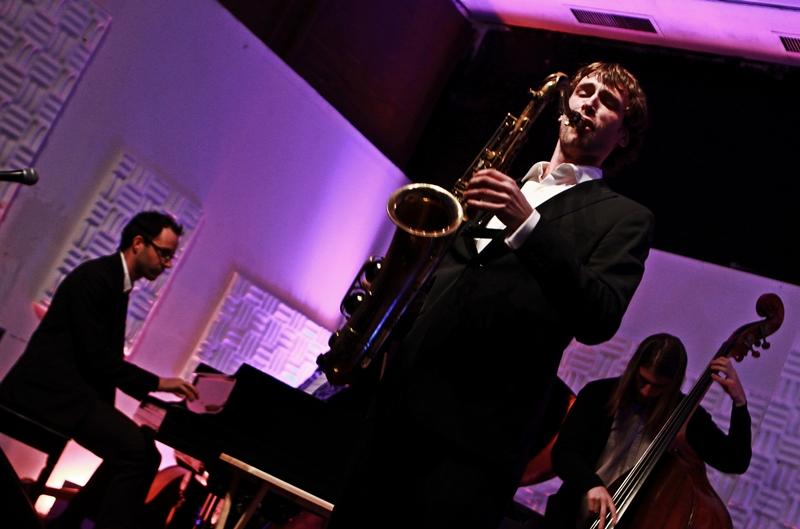 26.10.2011 Jeff Walton, Sebastien Ammann and Spencer Zahn, Somethin Jazz Cafe, New York, Us