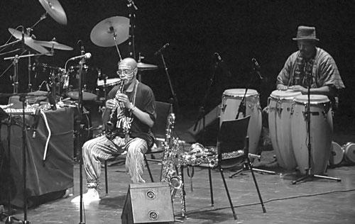 Joseph Jarman-F. Don Moye(Art Ensemble of Chicago)/ San Sebastian 2004