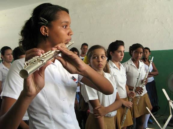 Students from Guillermo Tomas Conservatory, Cuba Perform.