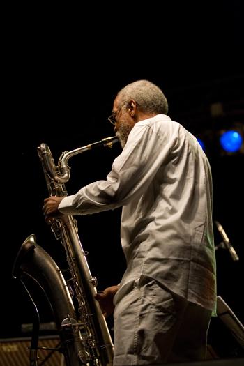 Hamiet Bluiett - Jazz in the Forest Festival - Suleczyno/ Poland in. Jul. 2008