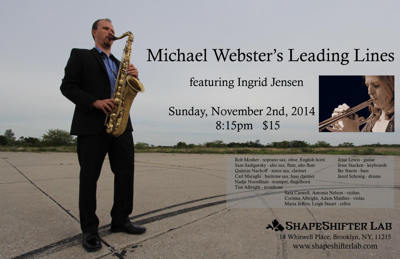 Michael Webster's Leading Lines W/ingrid Jensen