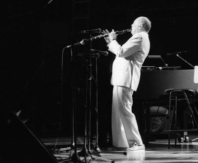 Woody Herman 0324934 Jvc-Capital Jazz Royal Festival Hall London July 1985 Images of Jazz