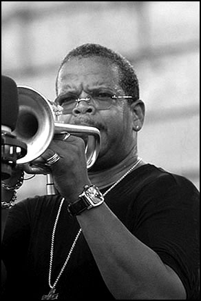 Terence Blanchard: 2003 JVC Jazz Festival in Newport R.I.
