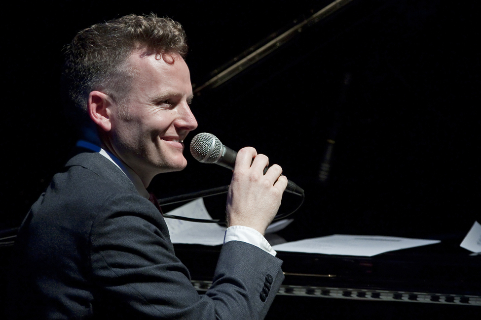 Joe Stilgoe at Holt Festival 2014