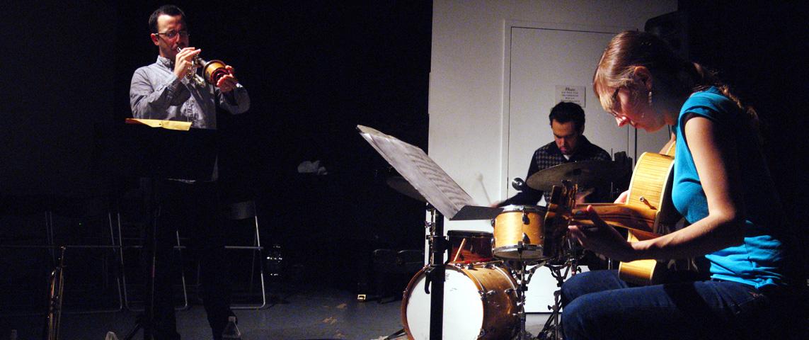 Taylor Ho Bynum Trio with Mary Halvorson and Tomas Fujiwara - The Stone 2006