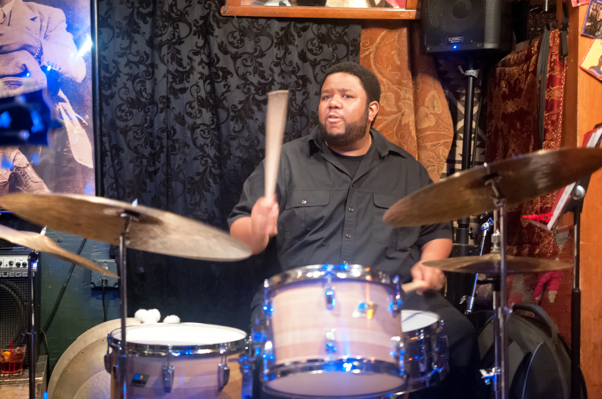 Tyshawn Sorey With The Lage Lund Quartet At Smalls Jazz Club In New York City