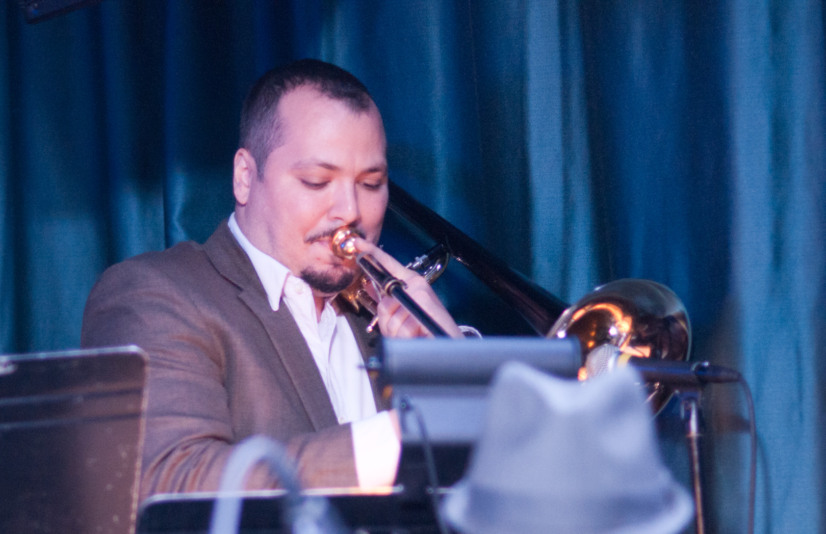 Michael Dease with the Wayne Shorter Tribute Big Band