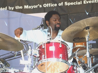 2006 Chicago Jazz Festival, Saturday: Dana Hall's Quintet Was Smoking at the Afternoon Stage