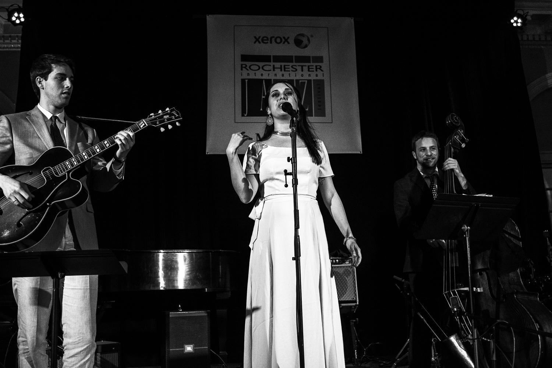 Veronica Swift Trio at Xerox Rochester International Jazz Festival 2017