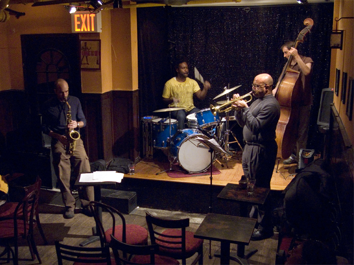 Rob Brown Trumpet Quartet with Lewis Barnes, Todd Nicholson &Amp; Guillermo E. Brown - Jimmys 43 2007
