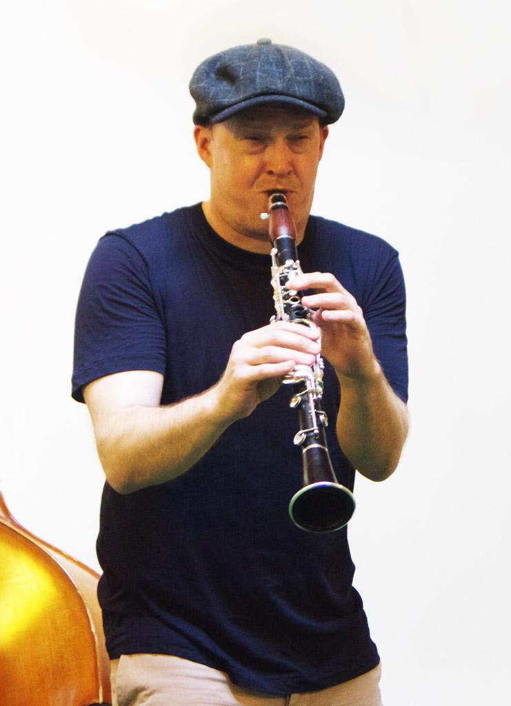 Adrian Cox Proundly Blue Quartet