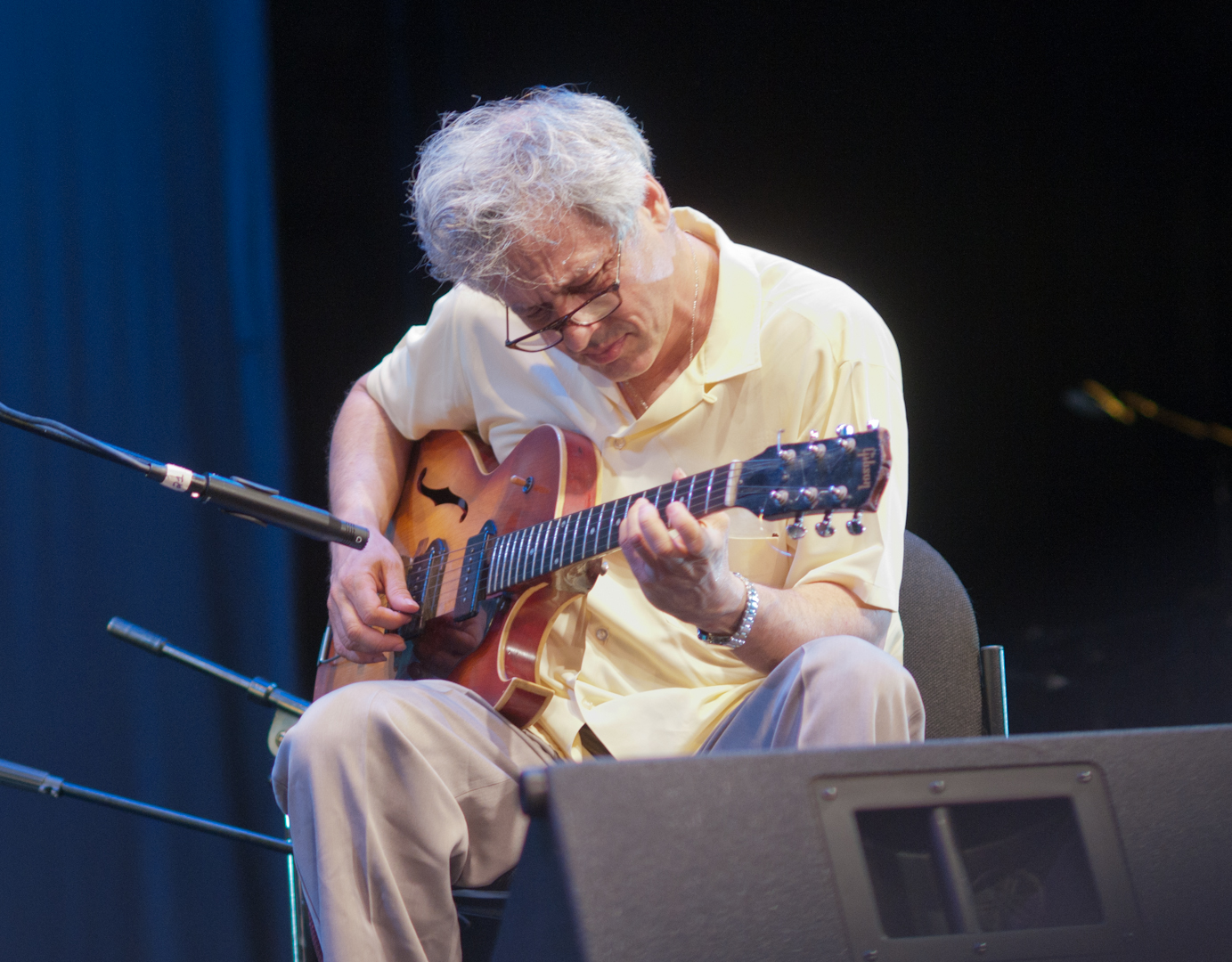 Marc Ribot in Duo with Henry Grimes Sat the Vision Festival 2011