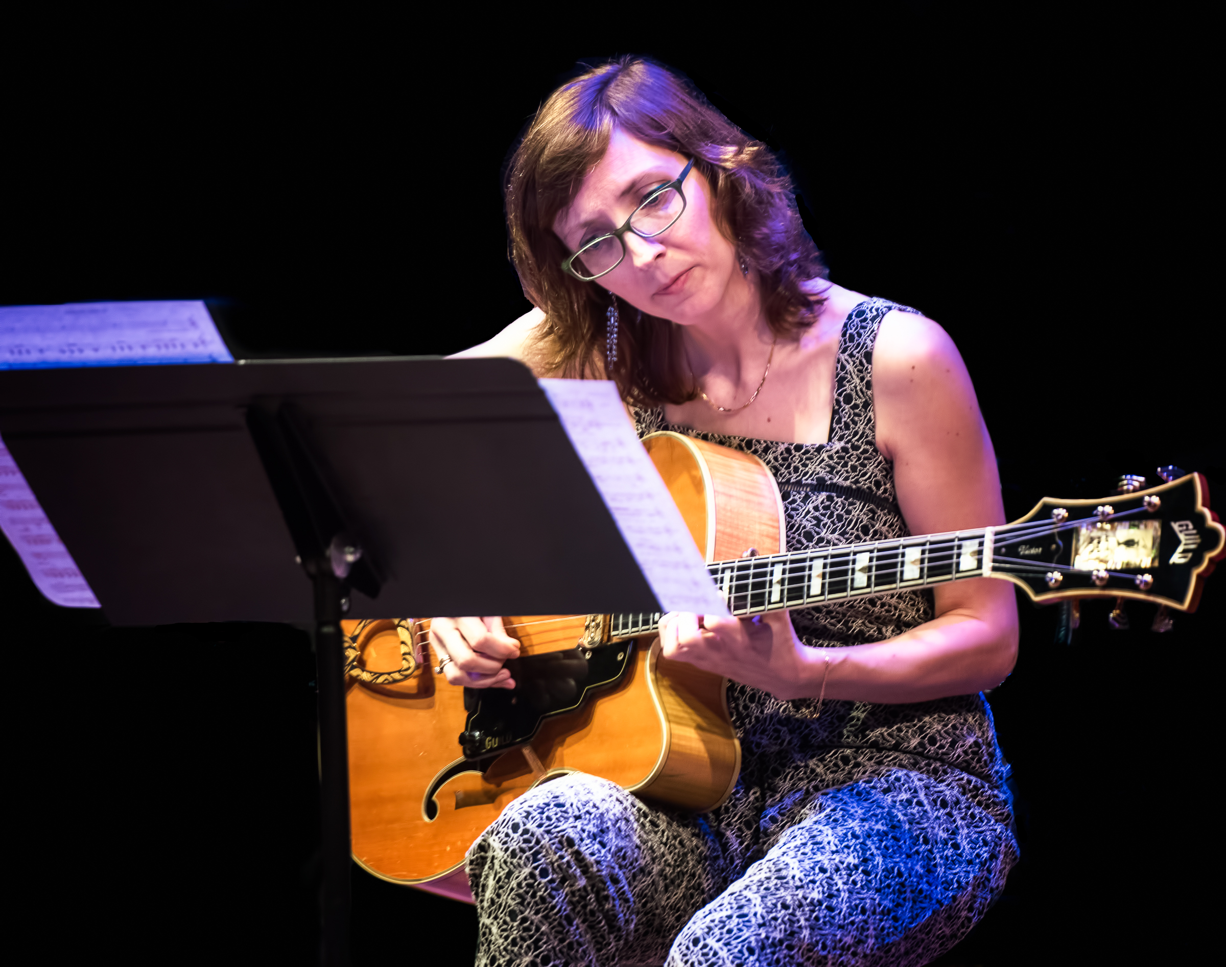 Mary Halvorson with Code Girl At the Vision Festival 2018