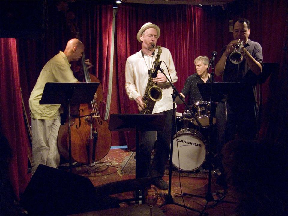 Gerry Hemingway Quartet - Cornelia St 2007