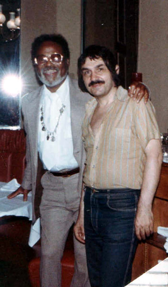 Vlad West with Clark Terry