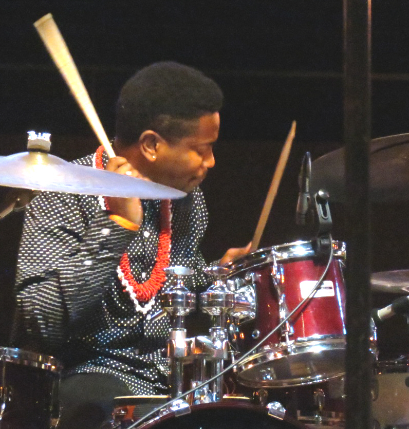 Joe dawson with donald harrison quintet at 2013 chicago jazz festival