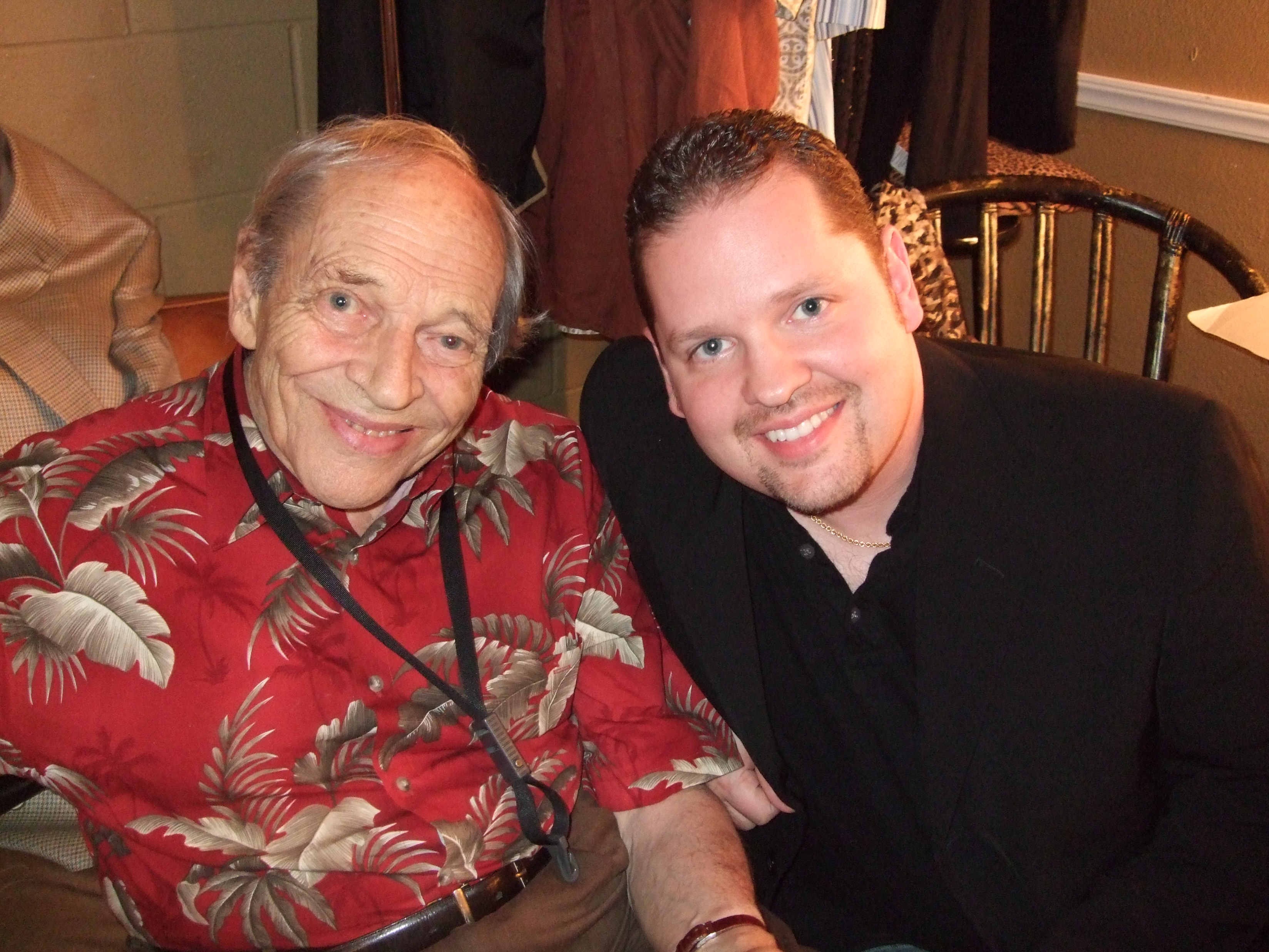 Me & John Dankworth