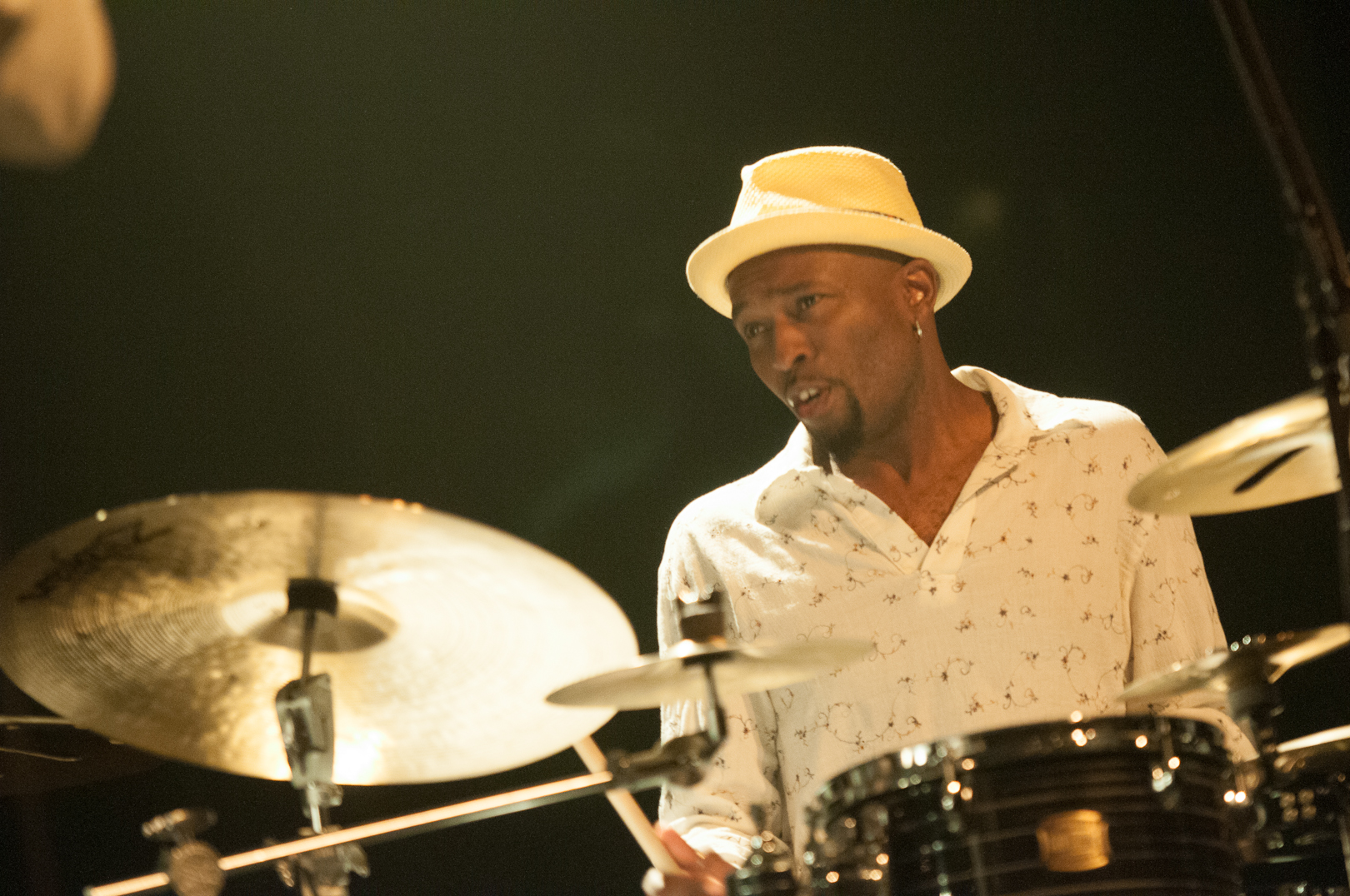 Clarence Penn with Gregoire Maret at the Montreal International Jazz Festival