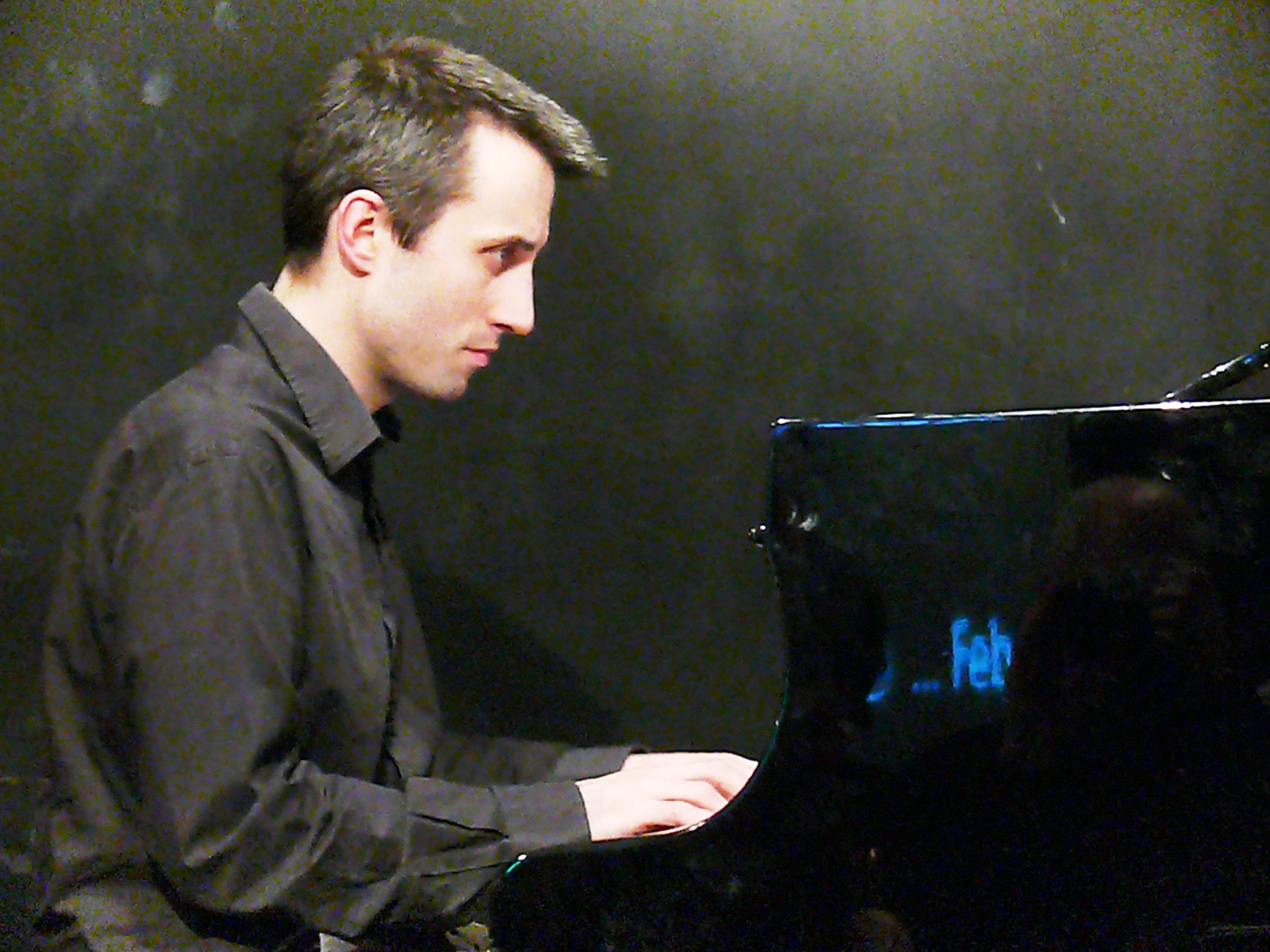 Alexander hawkins at the vortex, london in february 2013