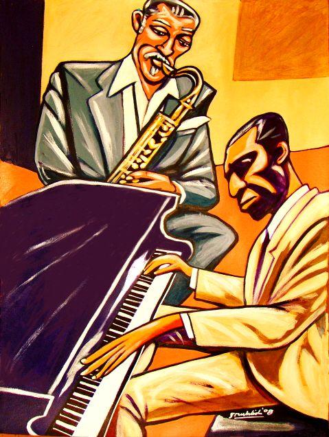 Ronnie Matthews with Dexter Gordon