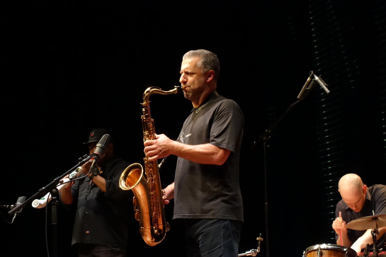 Rodrigo Amado, Joe McPhee, Kent Kessler, Chris Corsano, live at Bimhuis Amsterdam