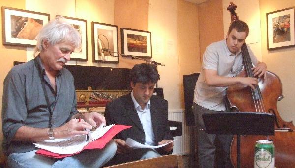 (From Left) Bob Martin, Leon Greening, Tim Thornton