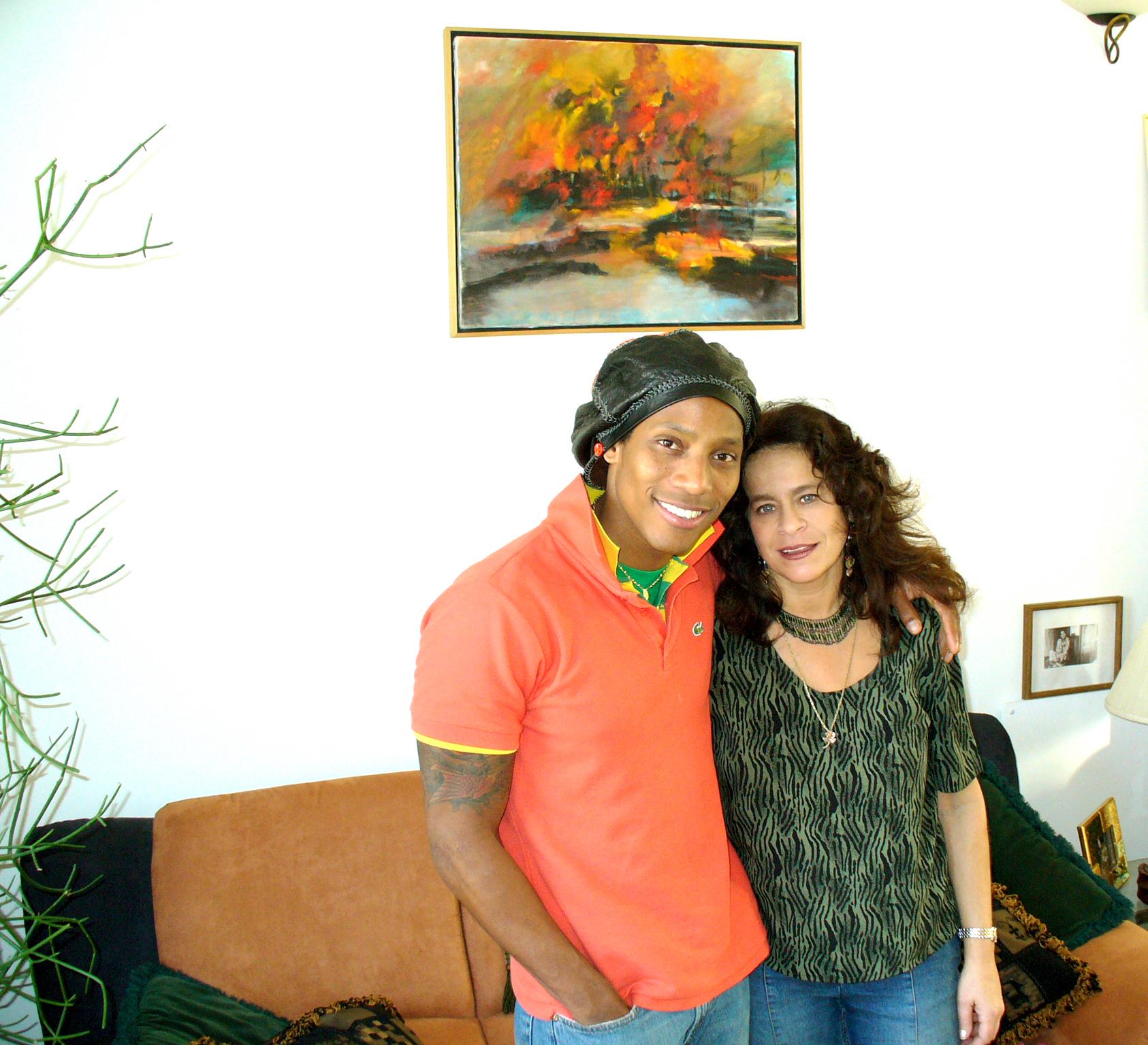 Michele Rosewoman and Master Tambolero Pedrito Martinez