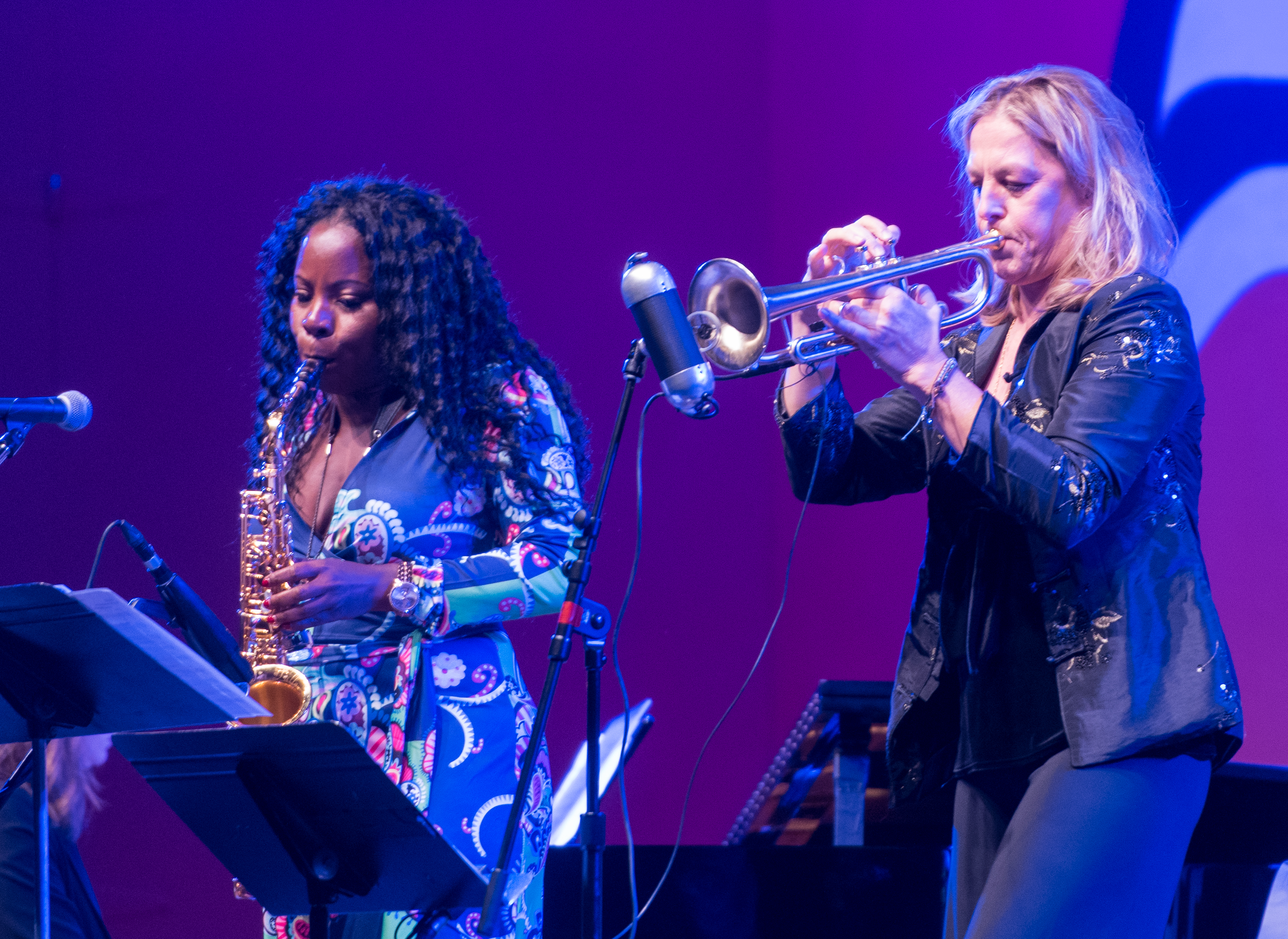 Tia Fuller and Ingrid Jensen with a Tribute to Geri Allen at the Monterey Jazz Festival 2018