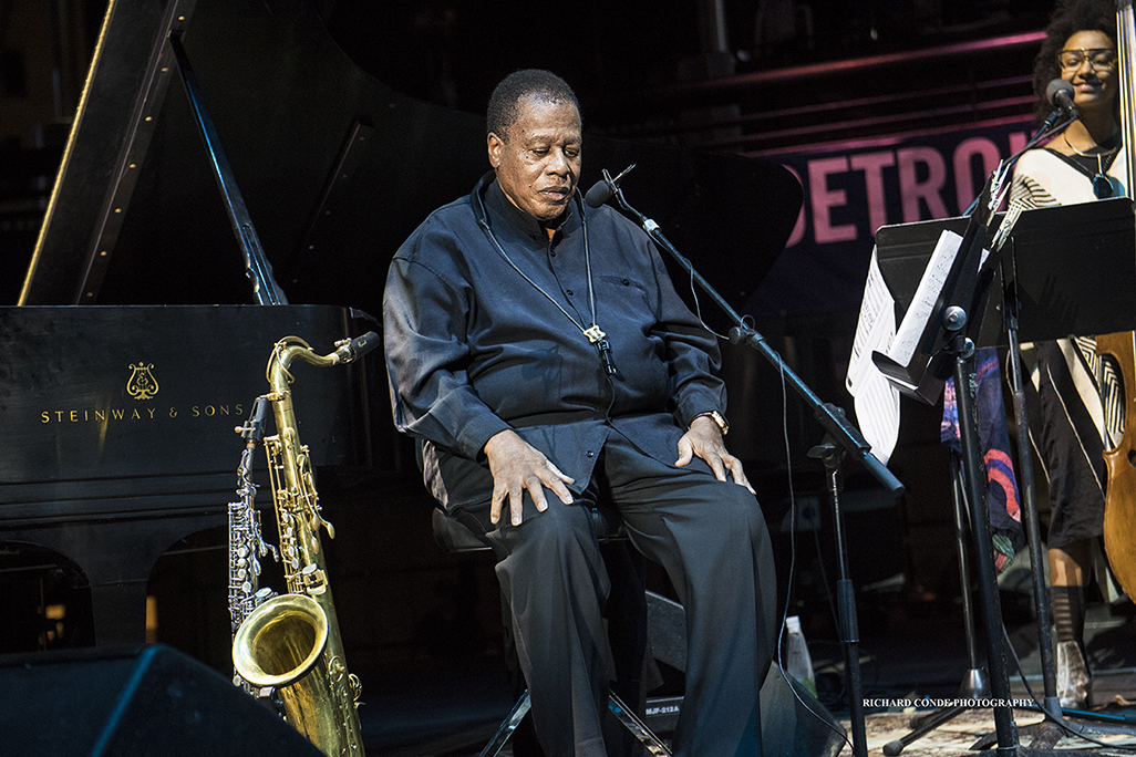 Wayne Shorter at the 2017 Detroit Jazz Festival