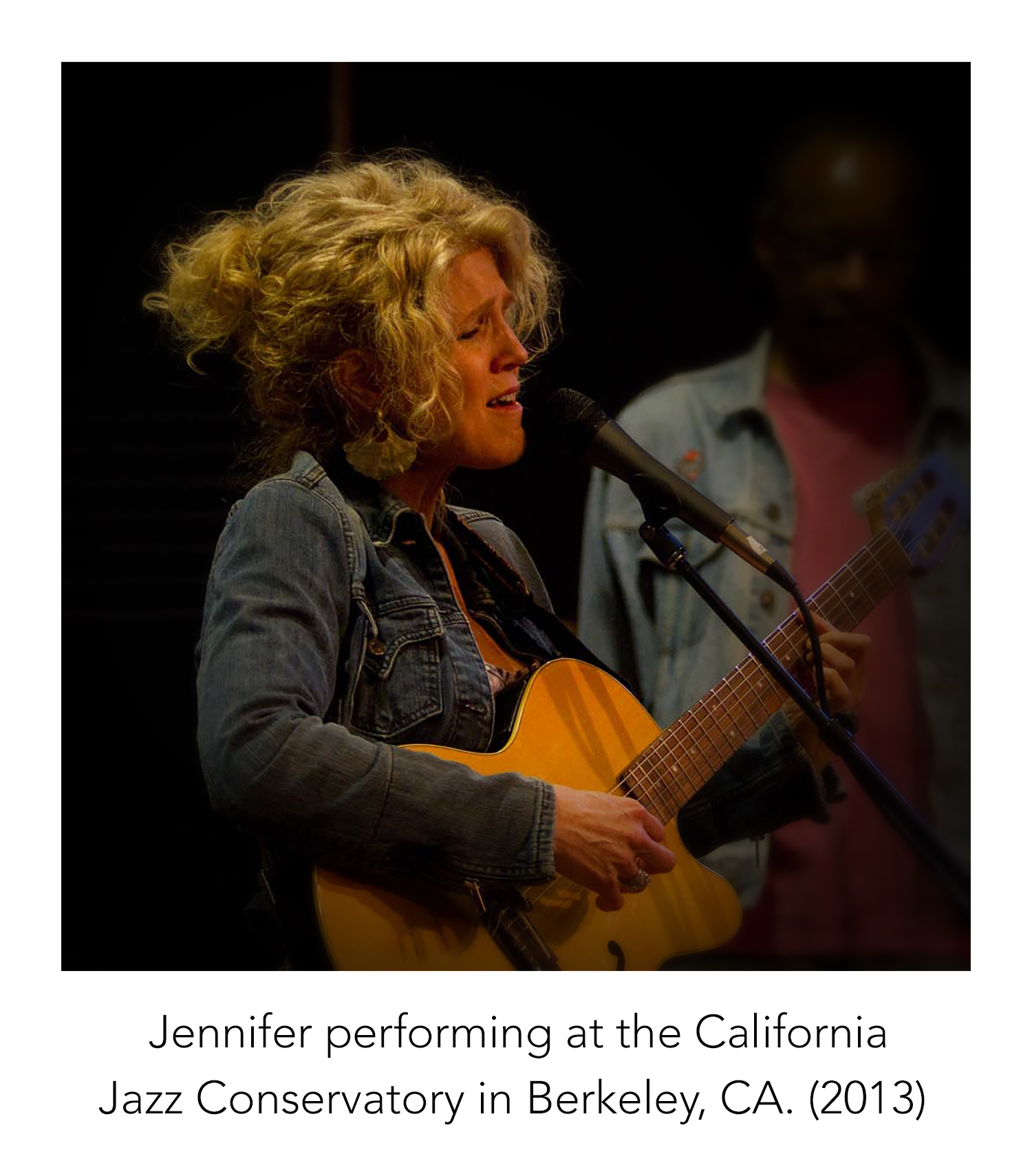 Jennifer Lee live at the California Jazz Conservatory