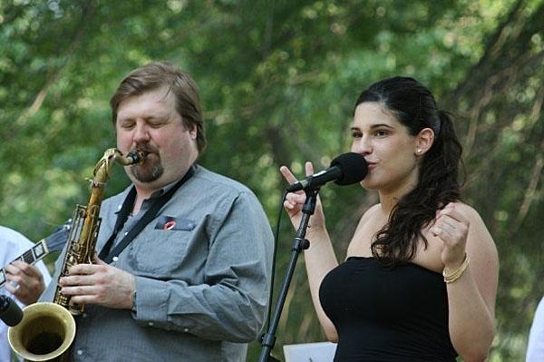 Dana Lauren and Joel Frahm