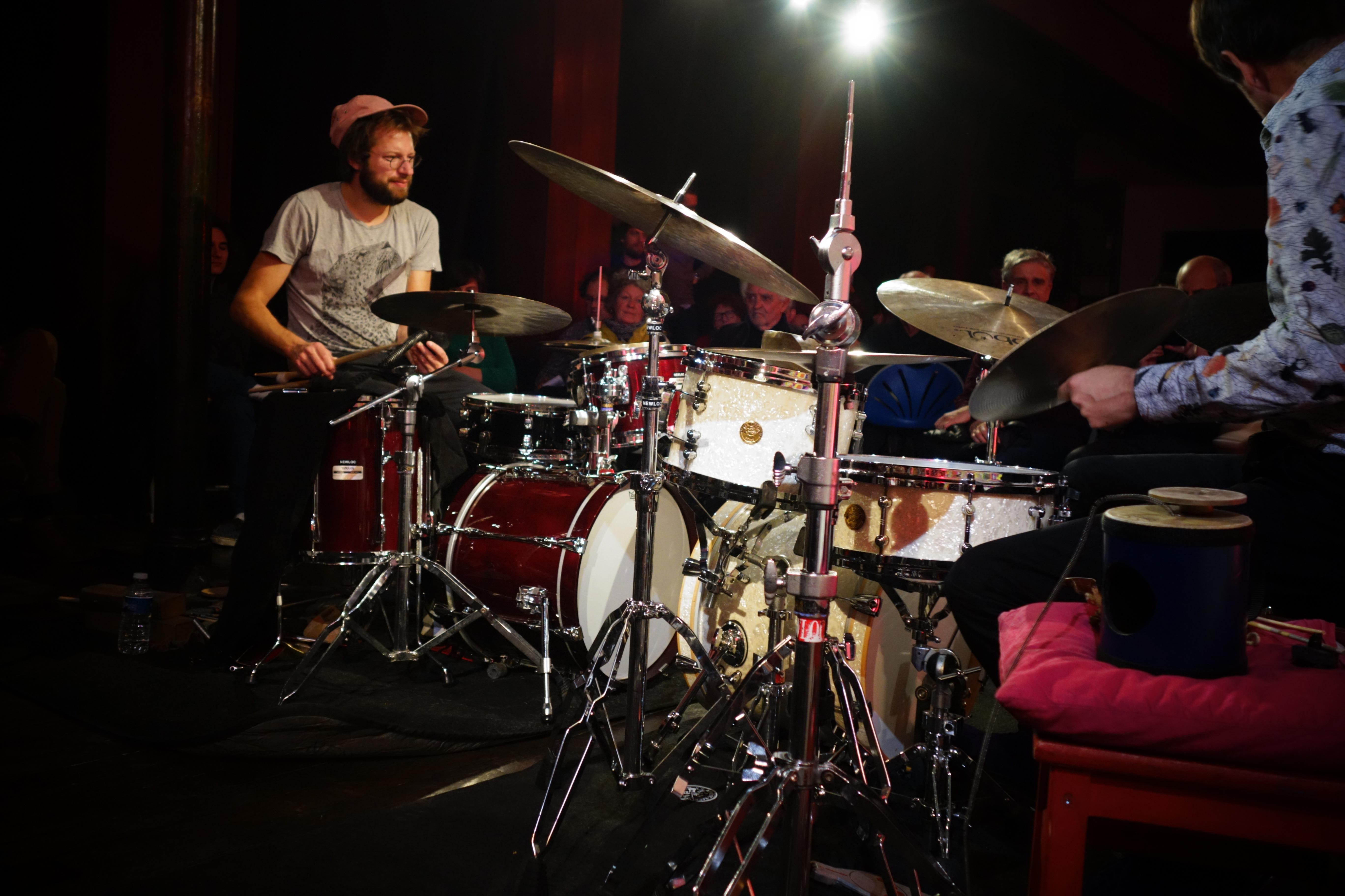 Julian Sartorius, Edward Perraud - Jazzdor Strasbourg 2017