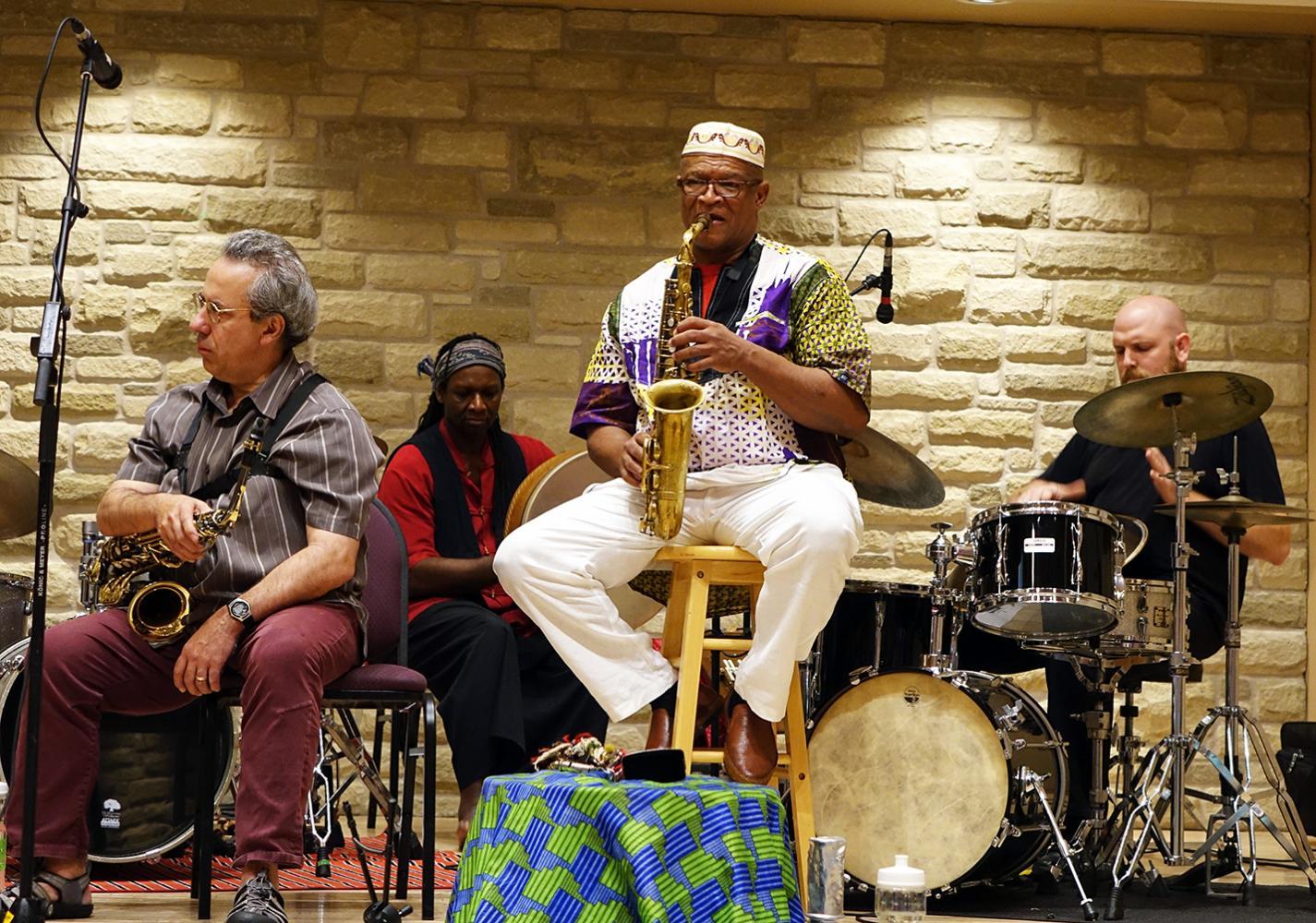 Jean Derome, Hamid Drake, Ernest Dawkins, & Jesse Stewart At Guelph Jazz Festival 2016