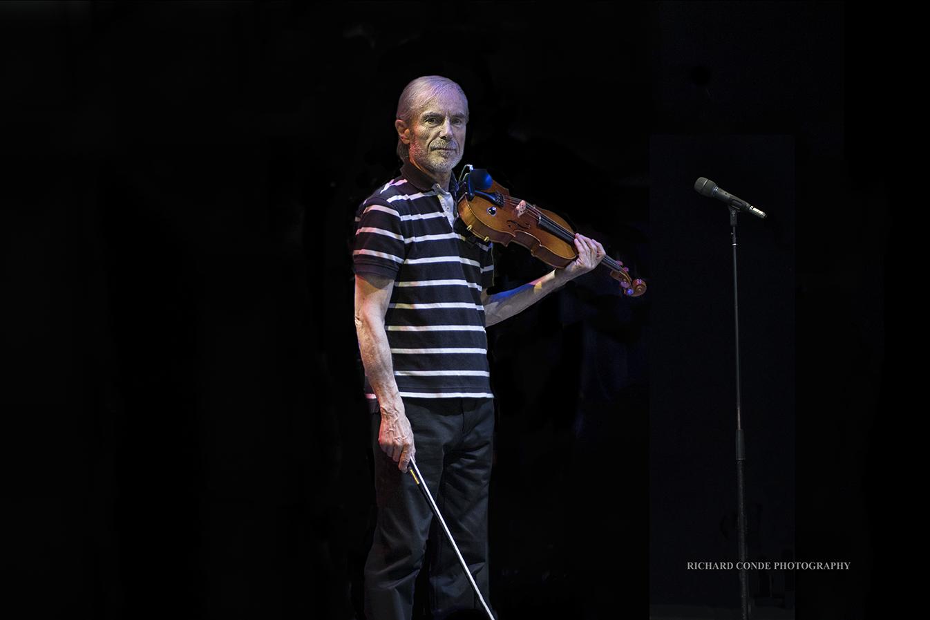 Jean Luc Ponty at the Freihofer Saratoga Jazz Festival 2017