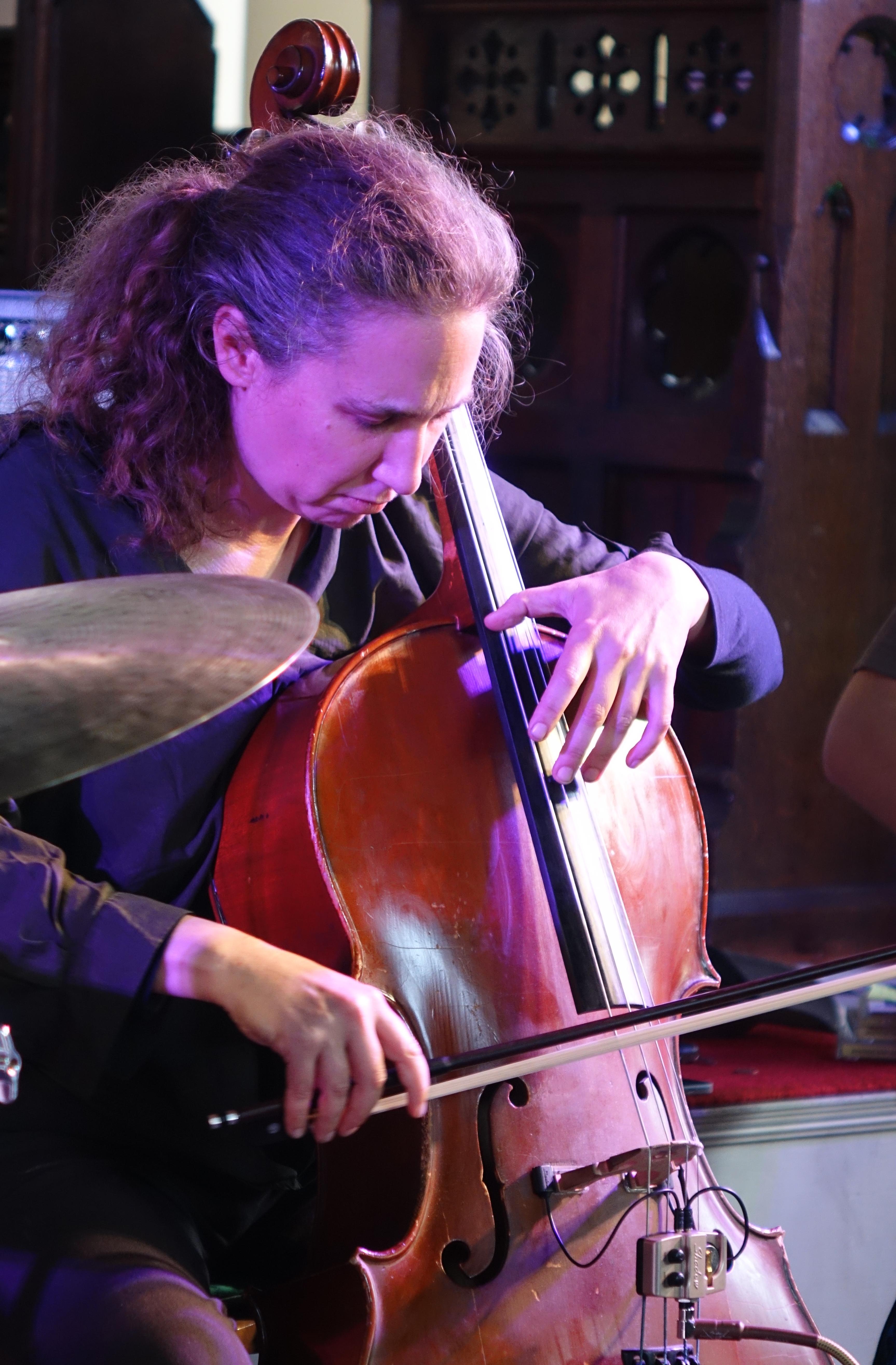 Hannah Marshall at Brighton Alternative Jazz Festival in October 2018