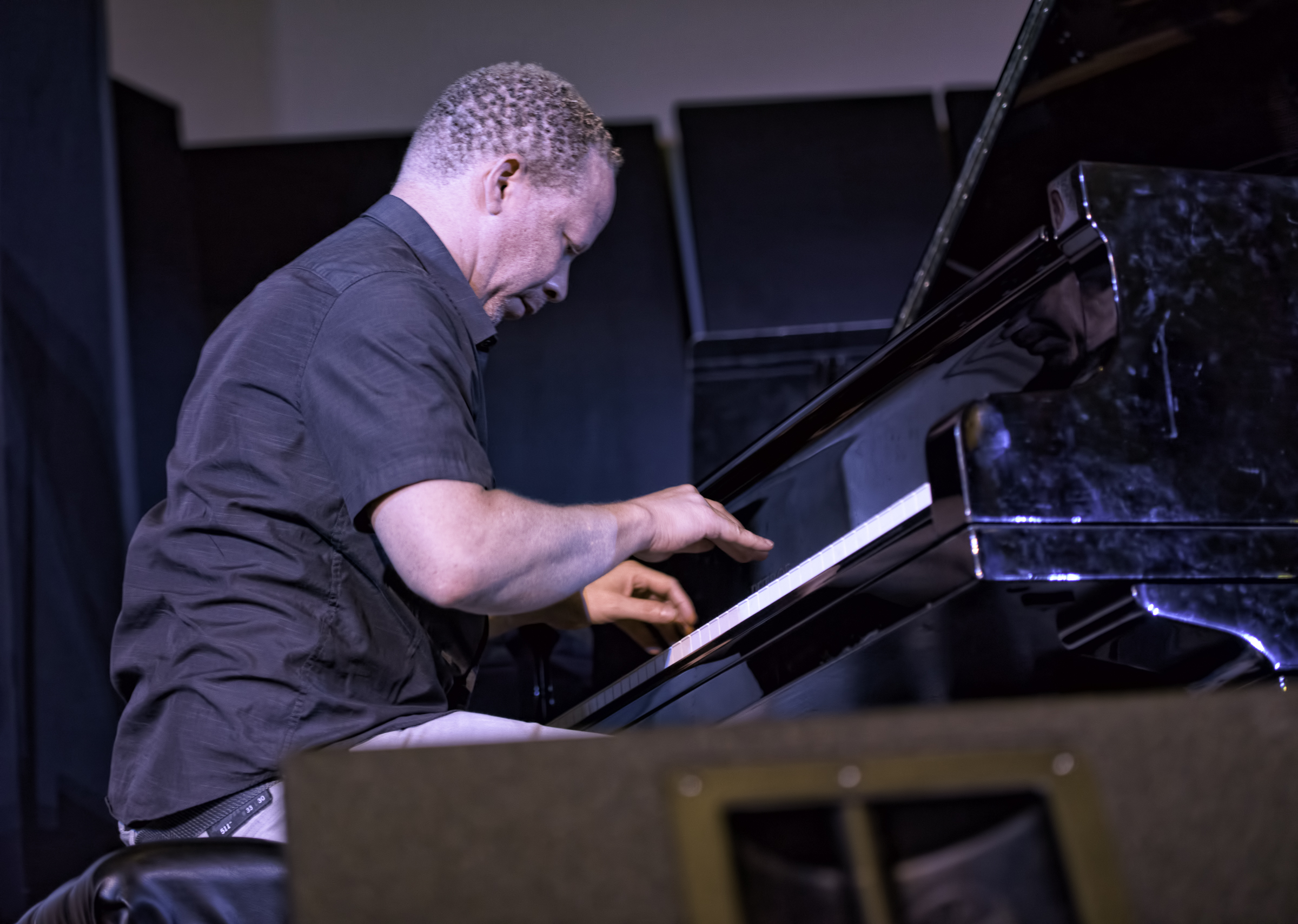 Craig Taborn with Roscoe Mitchell at the 20th Anniversary Vision Festival 2015