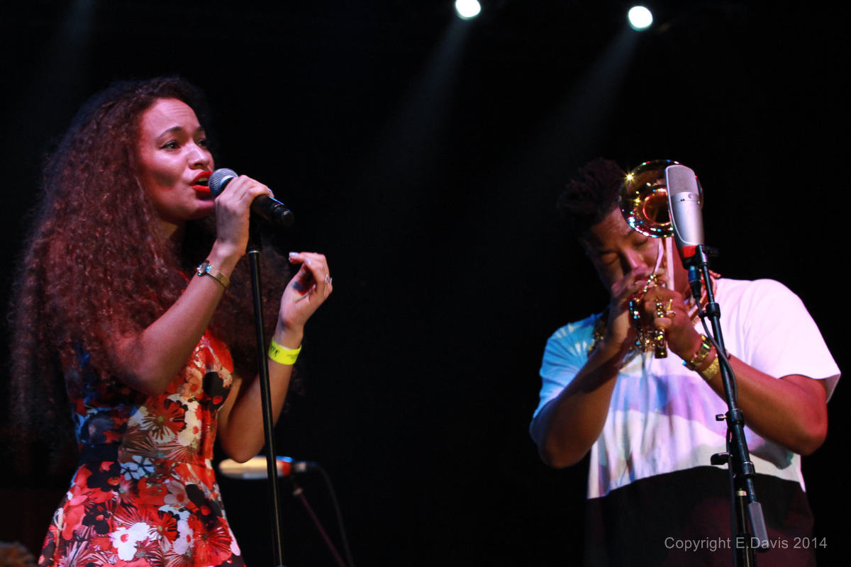 Isadora Mendez Scott and Christian Scott Perform at the Atlanta Jazz Festival